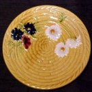VINTAGE GERMAN MAJOLICA POTTERY PLATE, gm2