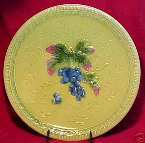 ANTIQUE GERMAN MAJOLICA POTTERY PLATTER, ZELL 1918-1939, gm157