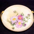 ANTIQUE HANDPAINTED RS GERMANY 2 HANDLED TRAY, hp49