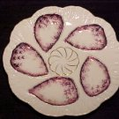 ANTIQUE GERMAN AUSTRIAN OYSTER PLATE CIRCA 1876, op8
