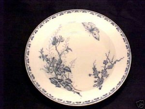 ANTIQUE FRENCH FAIENCE MAJOLICA POTTERY PLATE c.1800's , ff28