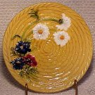 ANTIQUE GERMAN MAJOLICA POTTERY PLATE SMF, gm106