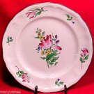 ANTIQUE VINTAGE FRENCH LUNEVILLE FAIENCE MAJOLICA POTTERY PLATE, lun20