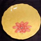 VINTAGE GERMAN MAJOLICA Pottery PLATE ZELL, gm53