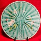 ANTIQUE ART NOUVEAU MAJOLICA Pottery PLATE V&B, gm346