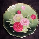 HP23, FABULOUS ANTIQUE FRENCH HAND PAINTED Porcelain Pottery PLATE