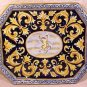 Antique Desvres n Quimper Faience Majolica Pottery Platter Tray, fm614