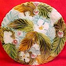 Antique Majolica Pottery Strawberry Plate c.1800's, fm661