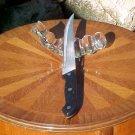 Vintage Murano Crystal Master Knife Rest, gl33