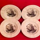 Vintage Set of 4 Wedgwood Ashtrays Charles W. Morgan, p60
