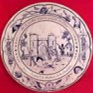 Large Luneville Faience Majolica Revolutionary Plate, ff198