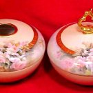 Antique Limoges T&V Powder Jar & Hair Receiver Hand Painted c.1892-1907, L148