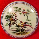 Large Vintage Limoges Enameled Birds of Paradise Dresser Box c.1940-1950, L185