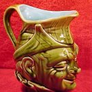 Antique Sarreguemines German Majolica Pitcher c.1890, gm764 Make Offer