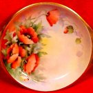 Antique RS Prussia Germany Handpainted Signed by Artist Handled Tray, p108