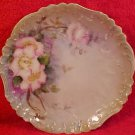 Antique Hand Painted Jean Pouyat Limoges Plate c,1890, L12