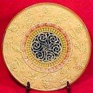 Ornate Antique German Majolica Plate Zell c.1907-1928, gm547
