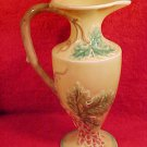 Beautiful Majolica Grapes & Leaves Pitcher, fm73