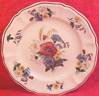 Vintage French Sarreguemines Faience Plate c.1920's, ff35