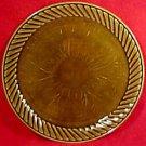 Vintage Majolica Fondue Platter Sarreguemines, fm495