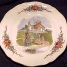 Antique French Obernai Faience Sarreguemines Plate, ff161