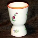 Luneville Faience Double Egg Cup, ff127