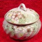 Antique Hand Painted Enameled French Porcelain Dresser Box c.1800's, p174