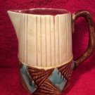 Antique French Majolica Orchies Pitcher, fm965