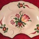 Antique Les Islettes or Faience de L'Est French Barber Bowl c1800-1880, ff420