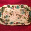 Antique French Asparagus Platter 2 Pieces c.1850-1890, fm984