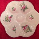 Antique French Luneville Faience Oyster Plate c1890, op227