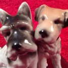 Antique German Porcelain Scotty & Jack Russel Terrier Figurine, p209