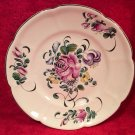 Antique Henri Chaumeil Rose Bouquet Flowers Plate c1890-1920, ff342