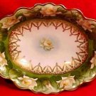 Antique Austrian Fine Porcelain Oval Bowl c.1884-1909, M Z Austria, pc36