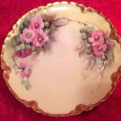 Antique Hand Painted Haviland Limoges Plate w Gold Rim, L248