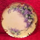 Antique Handpainted Haviland Limoges Plate Artist Signed, L254