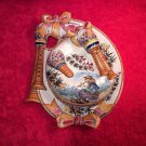 Beautiful Vintage French Faience Quimper Covered Cheese Platter Dish, ff313