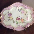Gorgeous Antique Hand Painted Dresser Tray Platter c.1800's, p239