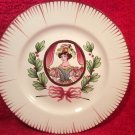 Antique French Faience Les Islettes Hand Painted Plate c. late 1700's, ff372