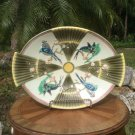 Sublime Antique Wedgwood Birds & Fans Majolica Large Platter c1800's, em53
