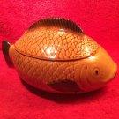 Vintage German Majolica Covered Fish Tureen c.1950's, gm850