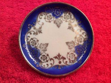Lovely German Porcelain Butter Pat, p201