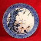 Beautiful Antique French Faience Bird & Mushroom Platter c1800's, ff307