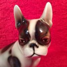 Beautiful Vintage Majolica French Bulldog Keramos Vienna Austria, gm815