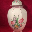 Vintage Luneville French Faience Ginger Jar Covered Vase c1984, lun104