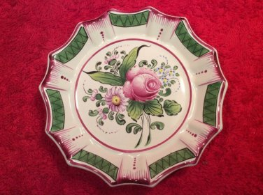 Beautiful Antique Faience de l'Est Butter Pat c1800's, ff371