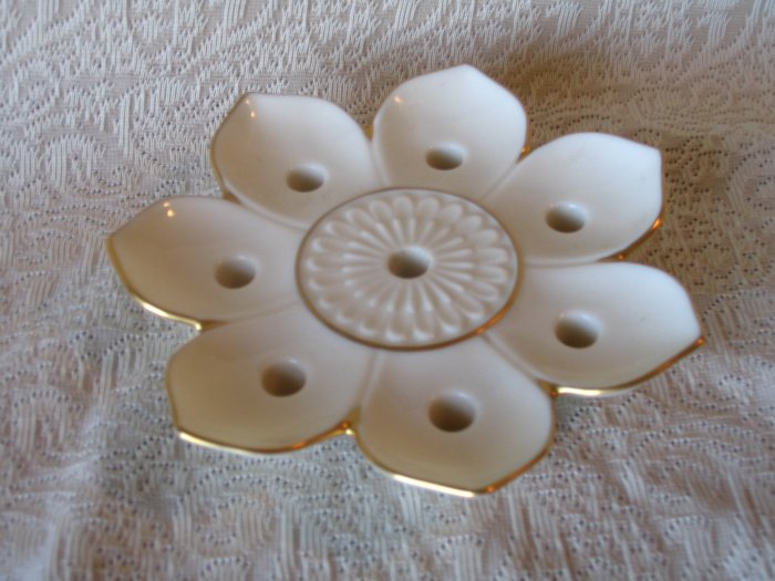 Lenox Flower Candleholder Candle Holder cuppatea.ecrater.com