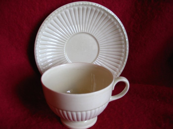 Lovely Wedgwood Cup and Saucer Edme Pattern cuppatea.ecrater.com