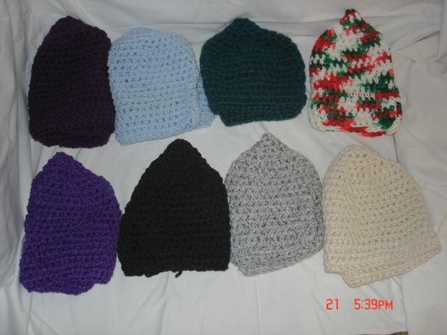 Multi Colored Stocking Caps
