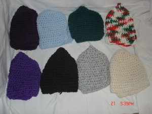 Multi Colored Stocking Caps